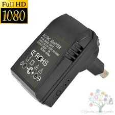 spy wall charger camera full hd