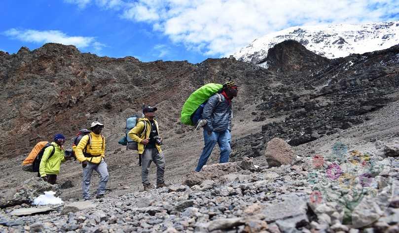 6 Day Kilimanjaro climbing via Machame route $1490 Min. 2pax