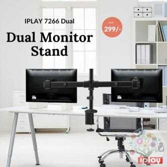 Dual Monitor Mounts in Dubai