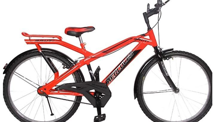 Hercules brut plus bicycle only 8 months old