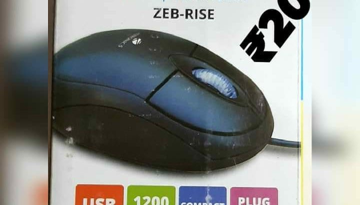 zebronics KEYBOARD and MOUSE